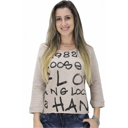 MOLETOM HANG LOOSE LILI FEMININO ALPES
