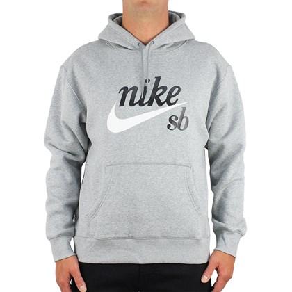 Moletom Nike SB Craft Canguru Heather Grey