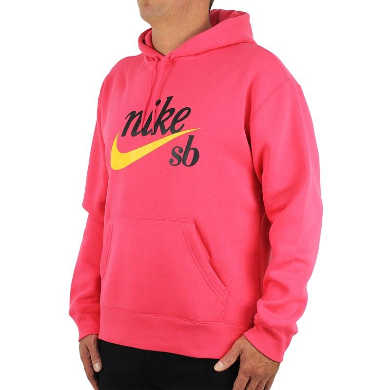 Moletom Nike SB Craft Canguru Red