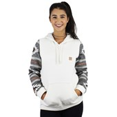 Moletom Rip Curl Native Hood Feminino Off White