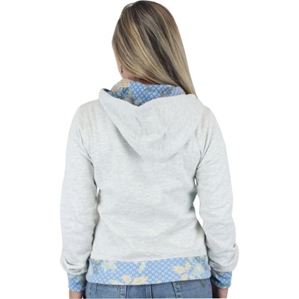 Moletom Rip Curl Tiki Coast Feminino Light Grey Marle