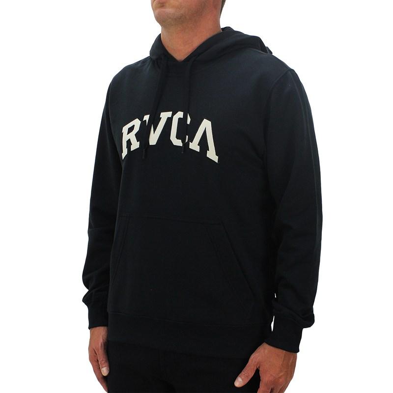 Moletom RVCA Concord Applique Black