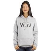 Moletom Vans Authentic Rock 2 Pullover Feminino Athletic Grey
