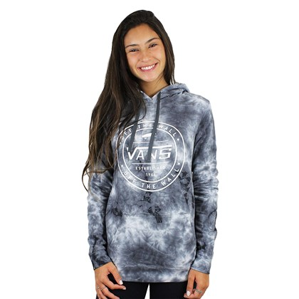 Moletom Vans New House II Hoodie Feminino Asphalt Cloud