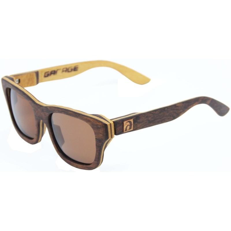 Óculos de Madeira Arpex Garage X Surf Alive Imbuia