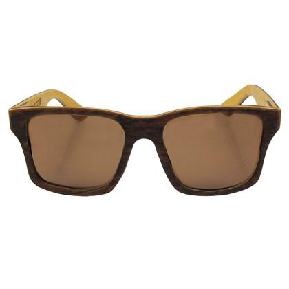 Óculos de Madeira Camburi Garage X Surf Alive Imbuia