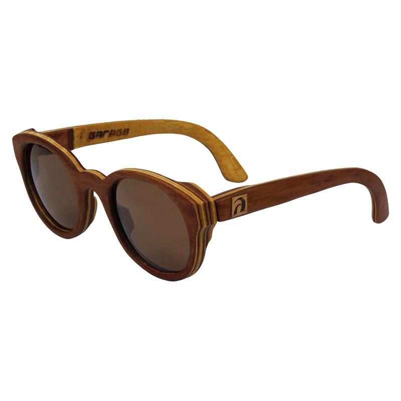 Óculos de Madeira Ipanema Garage X Surf Alive Cedro