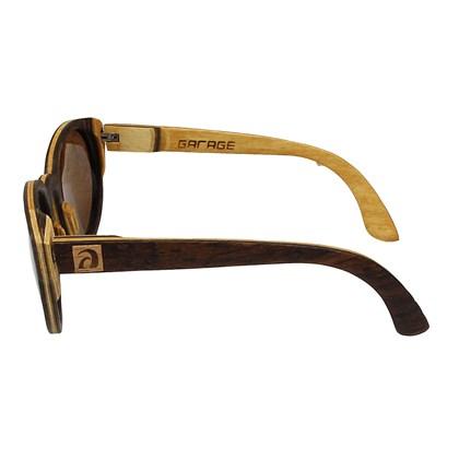 Óculos de Madeira Ipanema Garage X Surf Alive Imbuia