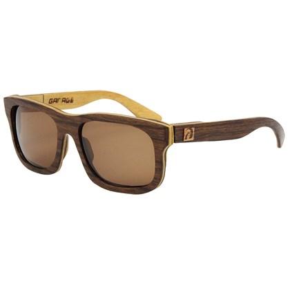 Óculos de Madeira Itaúna Garage X Surf Alive Imbuia