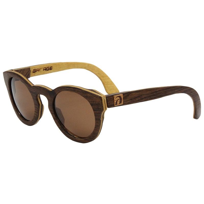 Óculos de Madeira Joaca Garage X Surf Alive Imbuia