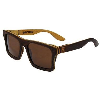 Óculos de Madeira Maresias Garage X Surf Alive Imbuia