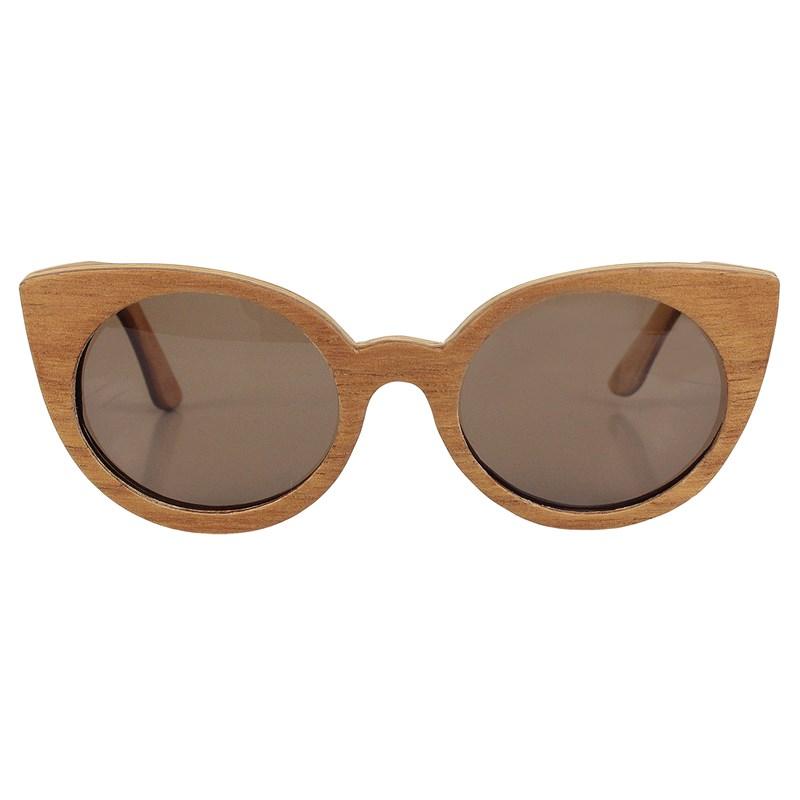 Óculos de Madeira Prainha Garage X Surf Alive Cedro