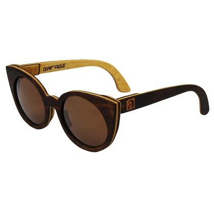 Óculos de Madeira Prainha Garage X Surf Alive Imbuia