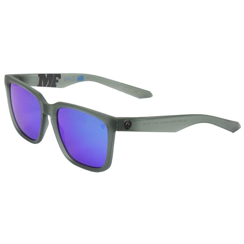 Óculos de Sol Dragon Dr Baile H2O Matte Crystal Shadow Blue Polarized