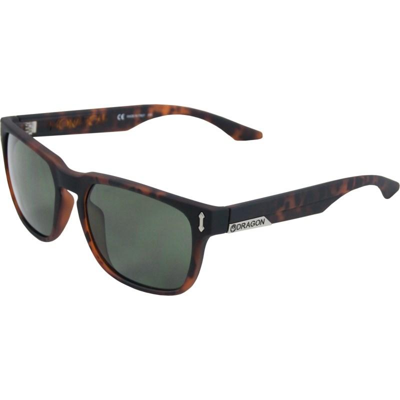 Óculos de Sol Dragon DR513S Monarch Matte Tortoise Green