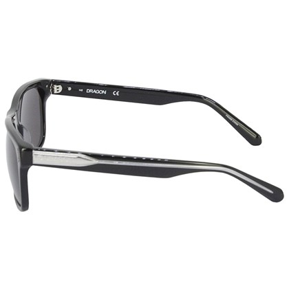 Óculos de Sol Dragon DR515S Blindside Shiny Black Smoke