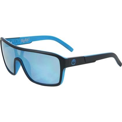 Óculos de Sol Dragon Jam Remix Matte Black Sky Blue Ionizado