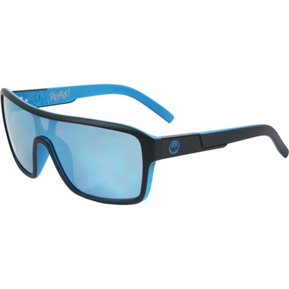 Óculos de Sol Dragon Jam Remix Matte Black Sky Blue Ionizado ... d65fa284be