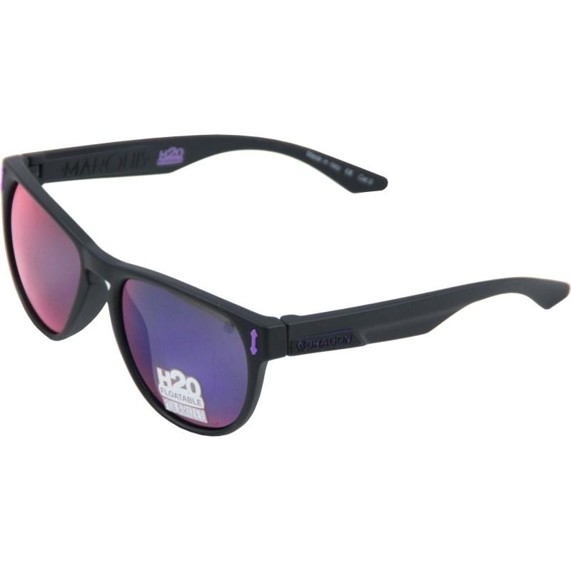 Óculos de Sol Dragon Marquis H2O Matte Black Plasma Performance Polarizado