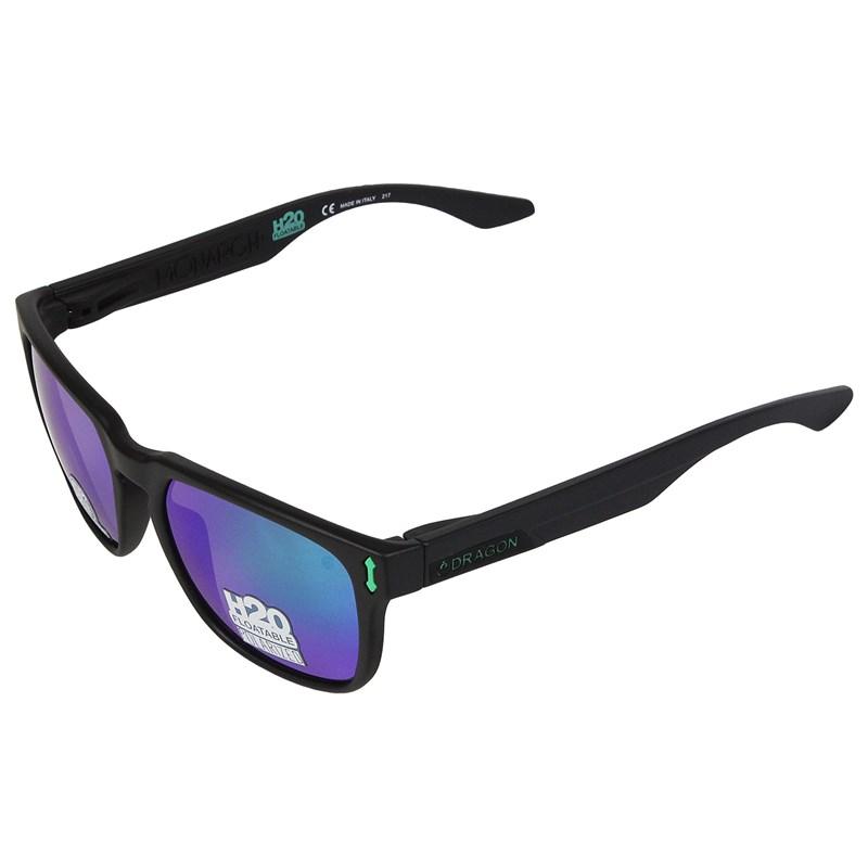 Óculos de Sol Dragon Monarch H2O Matte Black Green