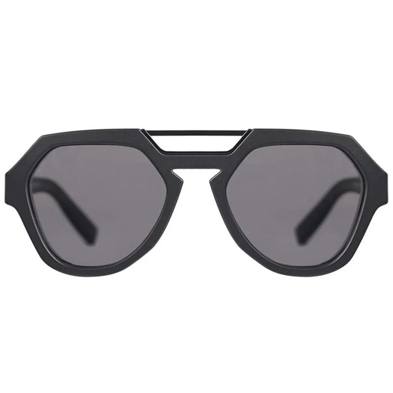 Óculos de Sol Evoke Avalanche A01 Black Matte Black Shine Gray Total