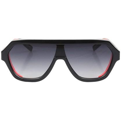Óculos de Sol Evoke Avalanche Dive A08 Black Shine Orange Fluor Gray Gradient