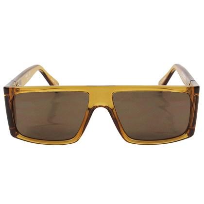 Óculos de Sol Evoke B-Side YD01Crystal Ambar Caramel Brown Total