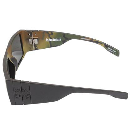 Óculos De Sol Evoke Bomber Pedro Barros Black Camouflage Grafite Grey Total