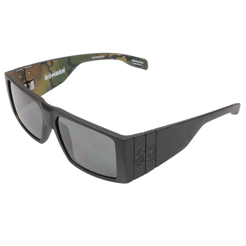 2f06b85fe1976 Óculos De Sol Evoke Bomber Pedro Barros Black Camouflage Grafite Grey Total