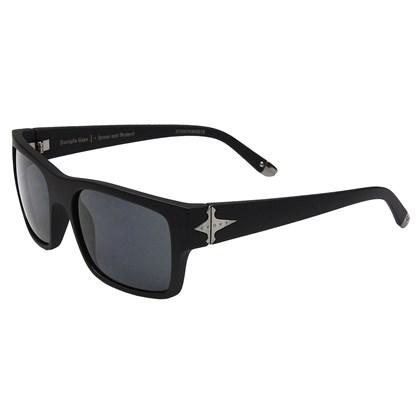 Óculos De Sol Evoke Capo I Black Matte Black Gray Total