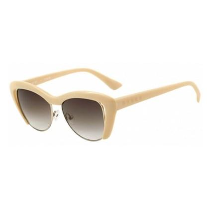 Óculos De Sol Evoke Cat City Pink Nude Brown Gradient