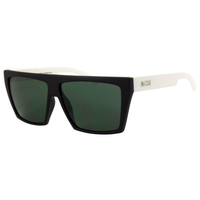 Óculos De Sol Evoke EVK 15 New Black Temple White Silver G15 Green Total