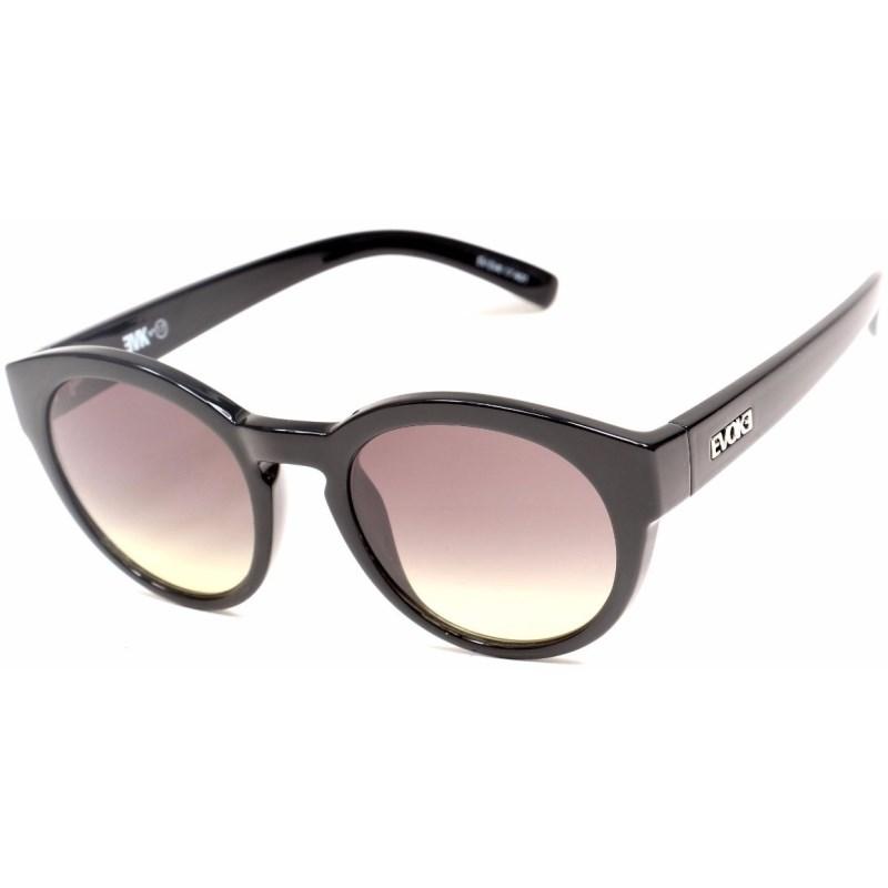 9cf600568971c Óculos De Sol Evoke EVK 17 Black Shiny Silver G15 Gradient - Surf Alive