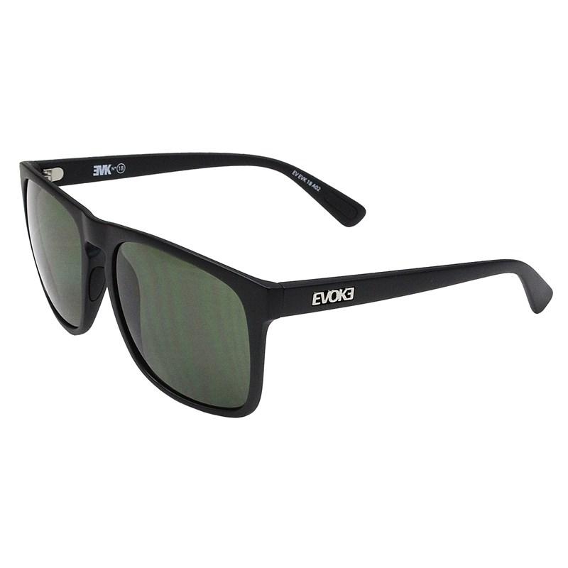Óculos De Sol Evoke EVK 18 Black Matte Silver G15 Total