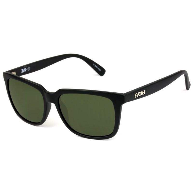 700b39c14f920 Óculos De Sol Evoke EVK 19 Black Matte Silver G15 Total - Surf Alive