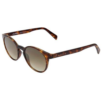 Óculos de Sol Evoke EVK 20 G21S Demi Shine Gold Flash