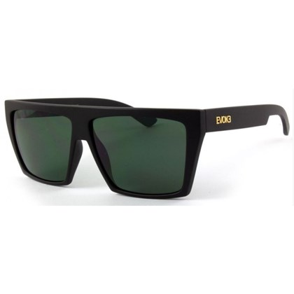 Óculos de Sol Evoke EVK15 A12 Black Matte Gold G15 Green Total