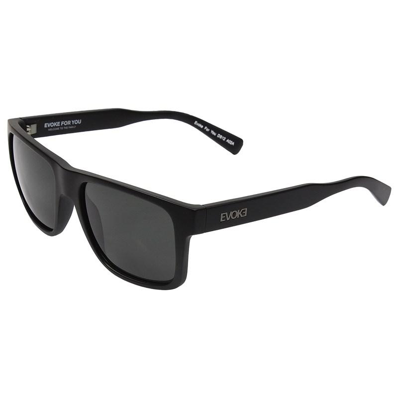 Óculos de Sol Evoke For You DS12 Black Matte Green Total