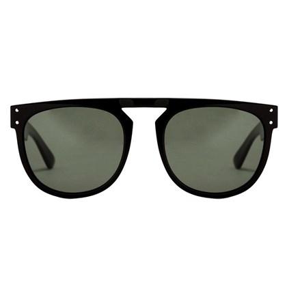 Óculos de Sol Evoke Ghost Black Shine Green Total