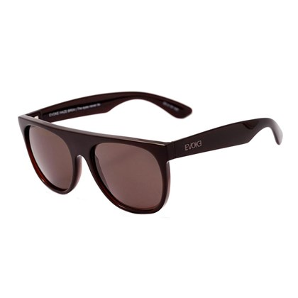 Óculos de Sol Evoke Haze BR04 Black Shine Brown Total