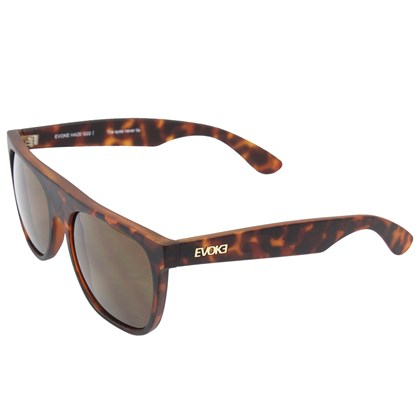 Óculos de Sol Evoke Haze G22 Turtle Matte Gold Brown total