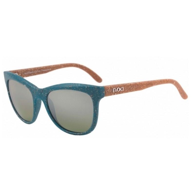 Óculos De Sol Evoke Hybrid II B07 Verde e Marrom
