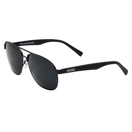 Óculos de Sol Evoke Kosmopolite DS5 02A Matte Black Silver Gray ... 5b07cc8248