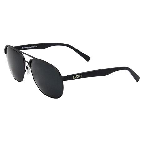 Óculos de Sol Evoke Kosmopolite DS5 02A Matte Black Silver Gray