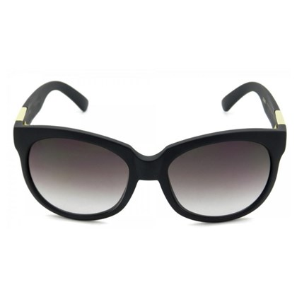 Óculos De Sol Evoke Mystique Black Matte Gold Brown Gradient