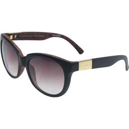 Óculos De Sol Evoke Mystique Black Wood Matte Gold