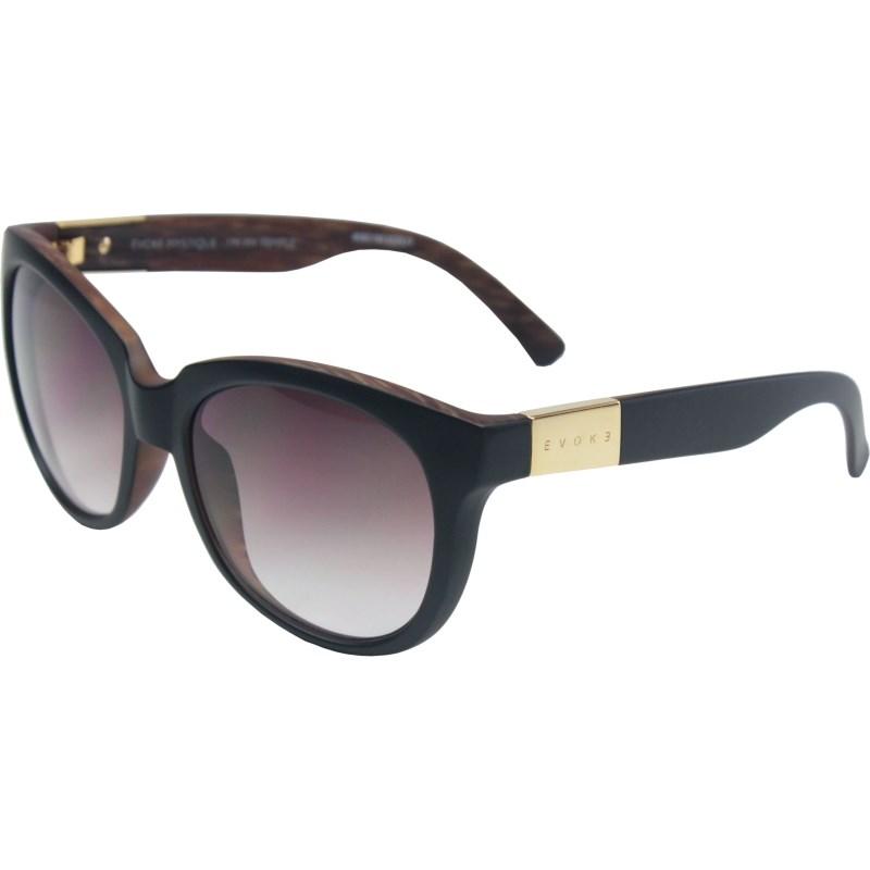 a858b019e8f92 Óculos De Sol Evoke Mystique Black Wood Matte Gold - Surf Alive