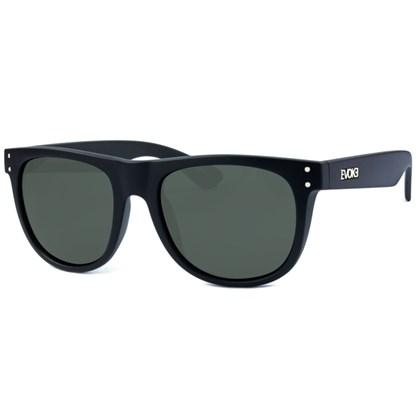 Óculos De Sol Evoke On The Rocks Black Matte Silver Gray Total