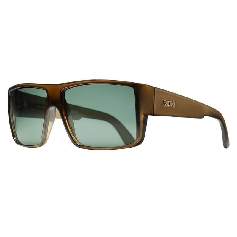 Óculos de Sol Evoke The Code Brown Crystal Shine Gold G15 Total