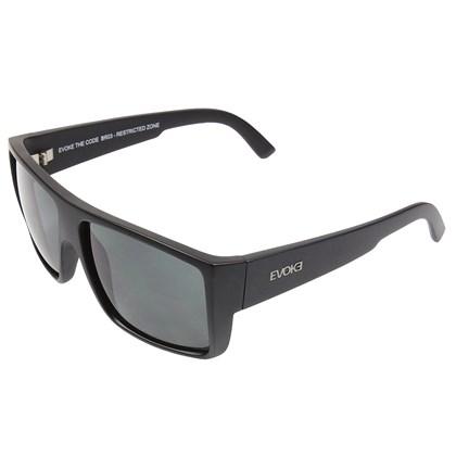 Óculos De Sol Evoke The Code Grafiti Matte Black Gray Total